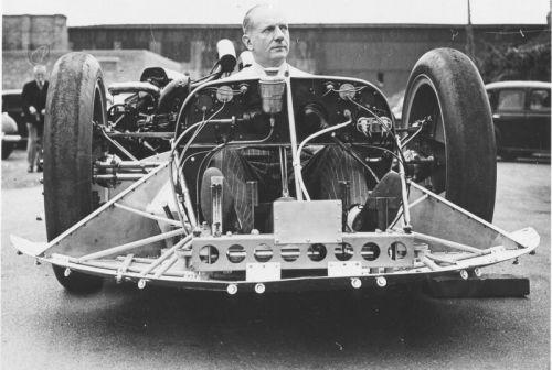 John Cobb at Brooklands Track hc348