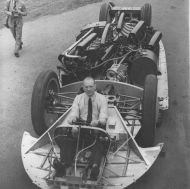John Cobb at Brooklands Track hc359