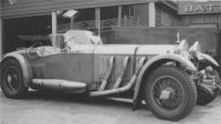 A Mercedes on the Brooklands track hm132