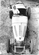 Kay Petre at Brooklands Track hp231