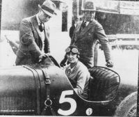 Woman driver at Brooklands hs4