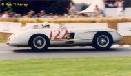 Stirling Moss in Mercedes 722 RT6
